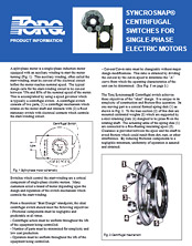 Centrifugal Switches Product Information